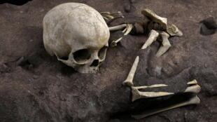أقدم دفن بشري بأفريقيا