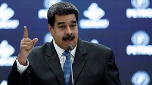 رئيس فنزويلا الاشتراكي نيكولاس مادورو