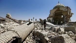 جامع النوري في مدينة الموصل،العراق