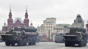 صواريخ اس 400 الروسية