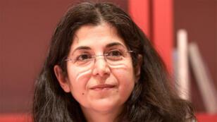 الباحثة الجامعيّة الفرنسيّة الإيرانية فريبا عدلخاه المعتقلة في ايران