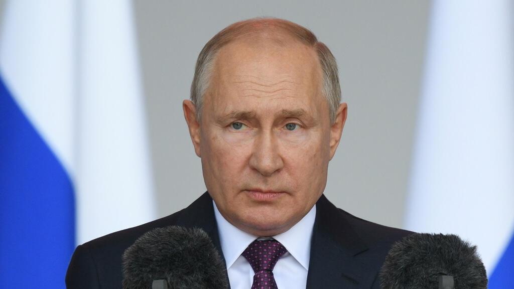 الرئيس الروسي فلاديمير بوتين في موسكو