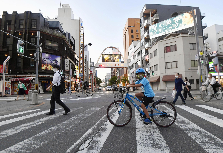 عودة الحياة تدريجيا في اليابان