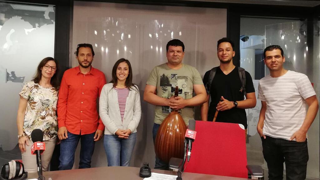 """فرقة """"Darimba """" و المغنية ليليا بن شيخة وعازف العود إحسان العريبي"""