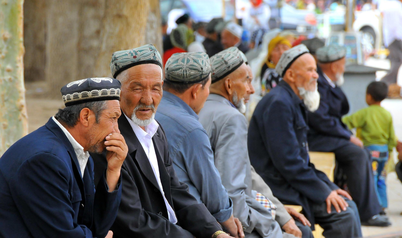 رجال من الأويغور