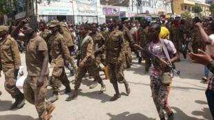 قوات الحكومة الإثيوبية في مدينة ميكيل