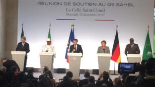 لقاء قمة مجموعة الخمسة في باريس 13-12-2017