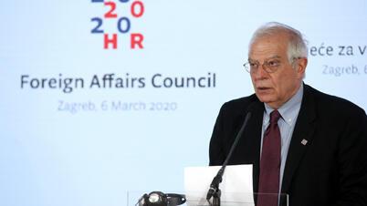 جوزيب بوريل منسق السياسة الخارجية بالاتحاد الأوروبي
