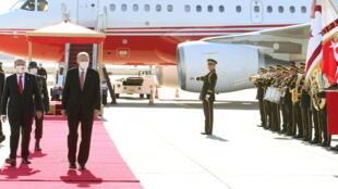 زيارة سابقة لأردوغان إلى شمال قبرص