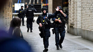 رجال الشرطة في بريطانيا-