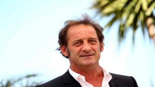 صورة للممثل الفرنسي فانسون لاندون في مهرجان كان 2015