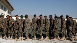 جنود أفغان