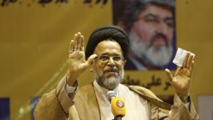وزير المخابرات الإيراني محمود علوي في طهران
