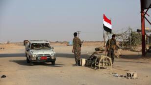 عناصر تابعة للقوات الحكومية اليمنية