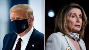 نانسي بيلوسي ودونالد ترامب