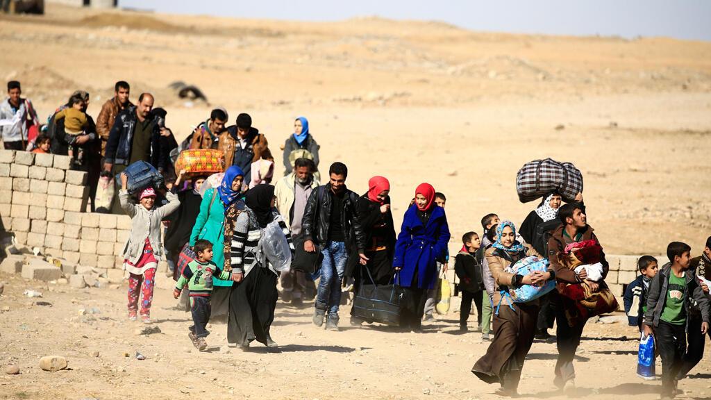 نازحون عراقيون