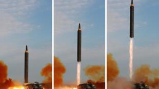 آخر تجربة كورية شمالية على إطلاق صاروخ باليستي