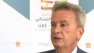 حاكم المصرف المركزي اللبناني رياض سلامة -