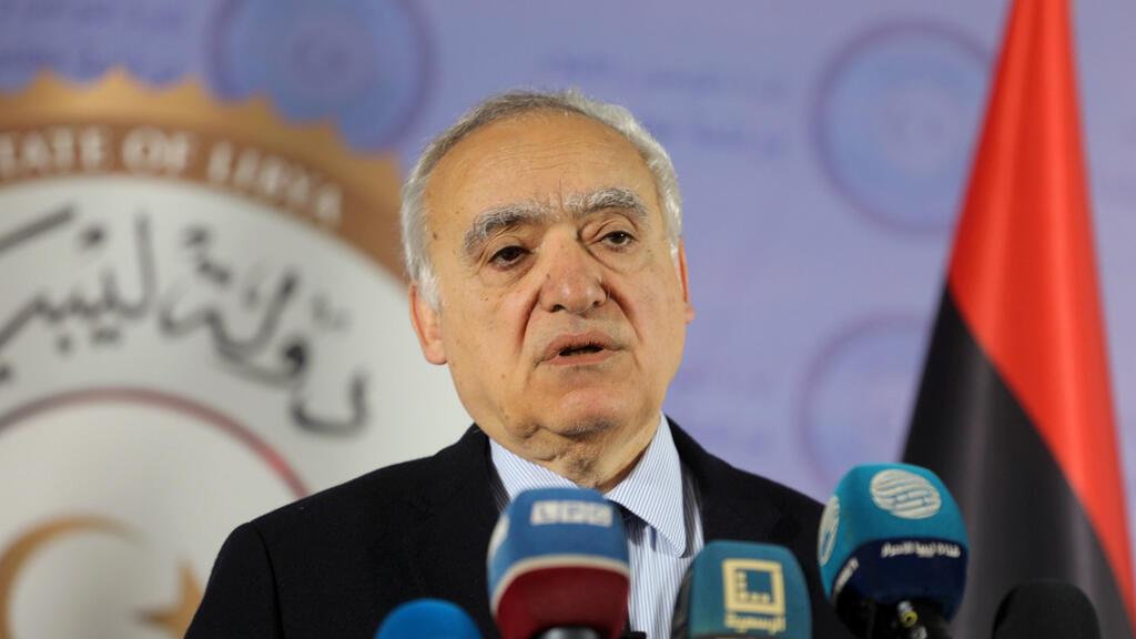 غسان سلامة مبعوث الأمم المتحدة في ليبيا
