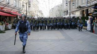 شرطة مكافحة الشغب في روسيا