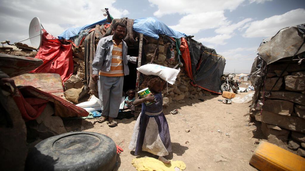 مشهد يبرز الوضع في اليمن