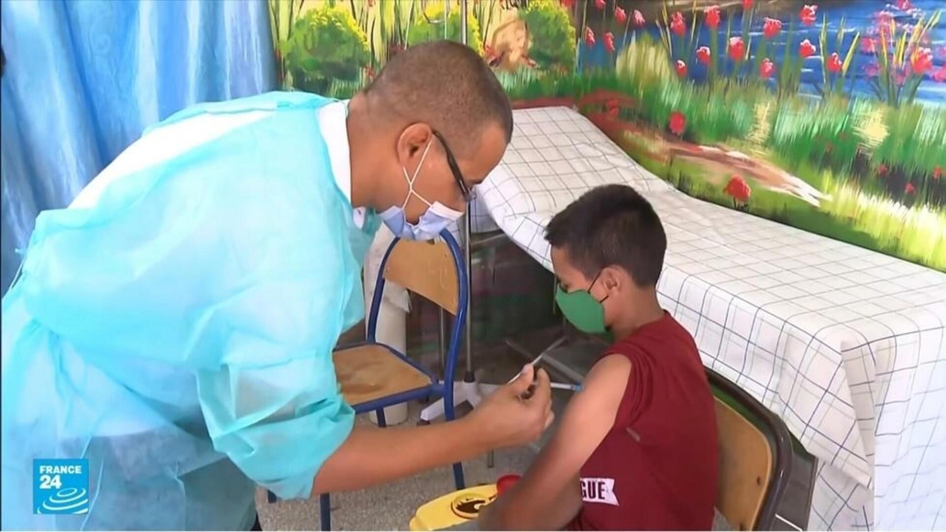حملة التطعيم ضد فيروس كورونا في المغرب.
