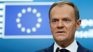 رئيس الاتحاد الأوروبي دونالد توسك
