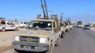قوات تابعة للحكومية الليبية المعترف بها دوليا