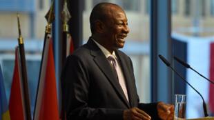 رئيس غينيا ألفا كوندي