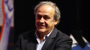 ميشال بلاتيني رئيس الاتحاد الأوروبي لكرة القدم سابقا