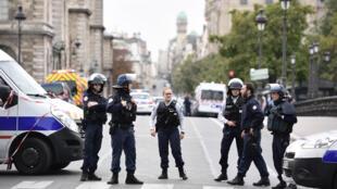 مكان الإعتداء على مقر الشرطة في باريس يوم 3 اكتوبر 2019