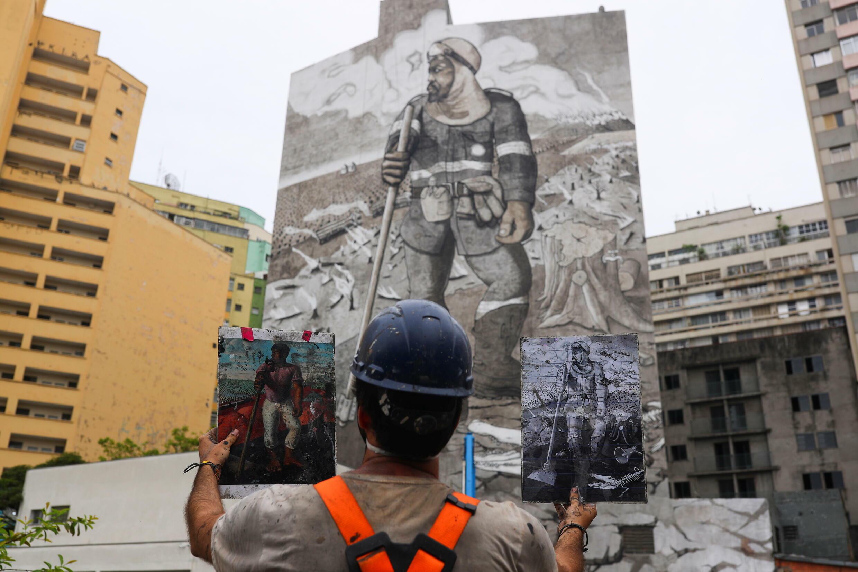 BRAZIL-ENVIRONMENT-ARTIST