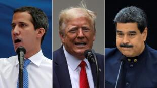مادورو وترامب وغوايدو