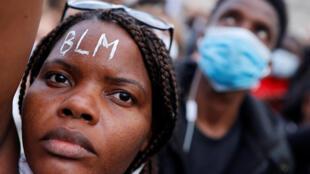 مظاهرات في باريس استنكارا لمقتل جورج فلويد