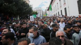 مظاهرة في الجزائر