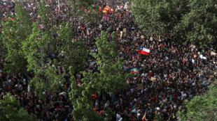 المظاهرات في تشيلي