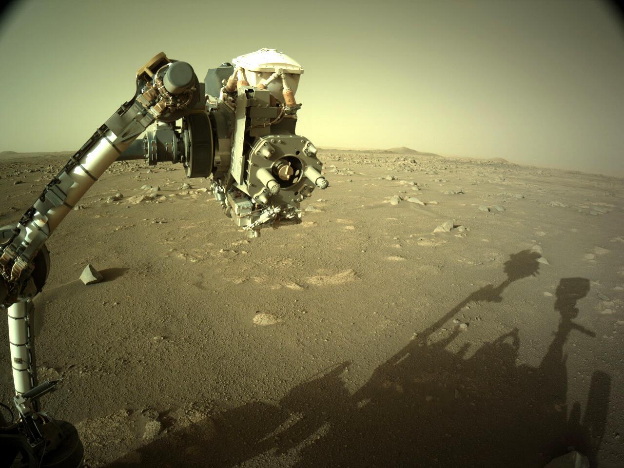 Camera du Rover Perseverance