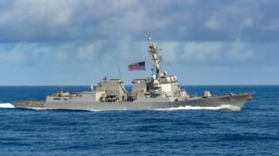 المدمرة الأمريكية USS Pinckney