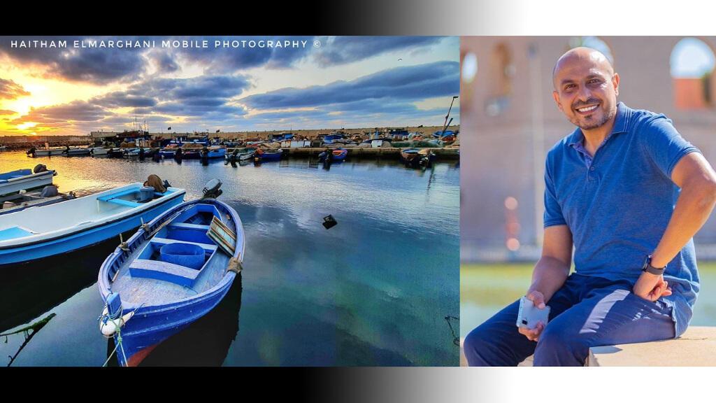 المصور الليبي هيثم المرغني