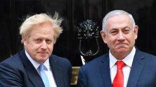 نتانياهو وجونسون في لندن