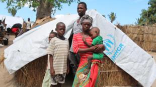 في مخيم للاجئين شمال موزمبيق