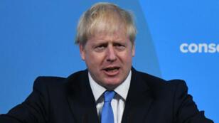 بوريس جونسون الذي انتخب رئيسا لحزب المحافظين البريطاني