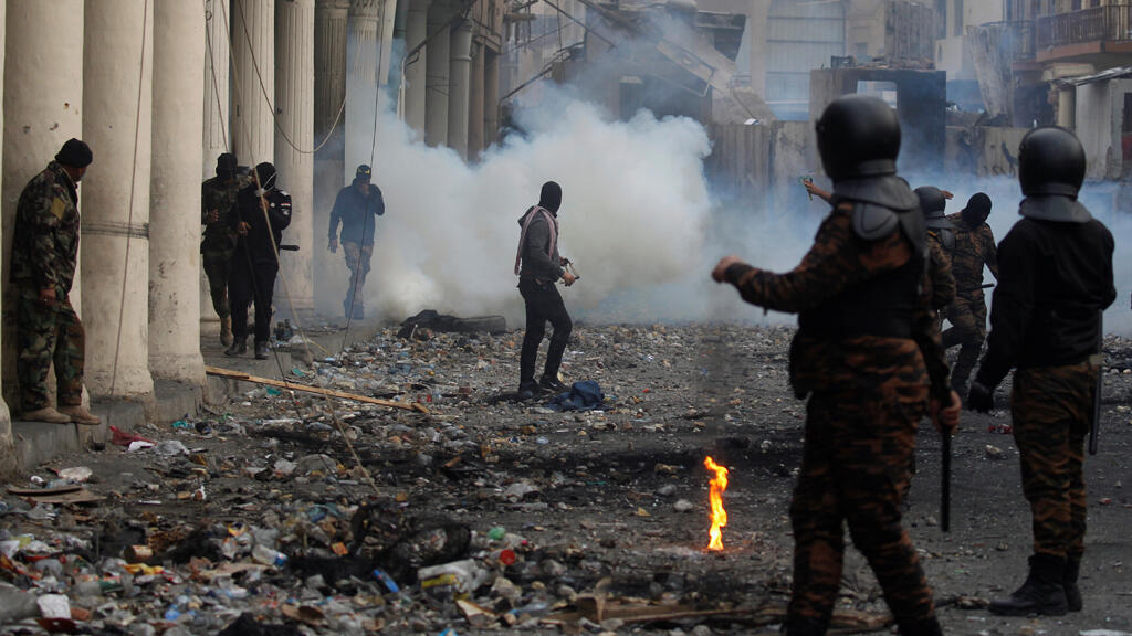 iraq_security_forces_manifestants