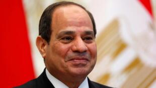 الرئيس المصري عبد الفتاح السيسي-