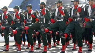 مناورات العسكرية  في محافظة شرق طهران
