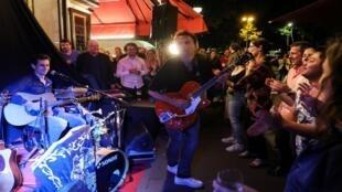 حفلة موسيقية ضمن عيد الموسيقى في فر نسا