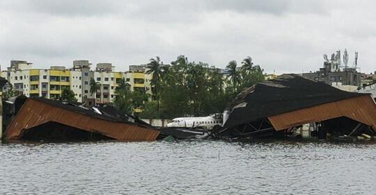 إعصار أمفان الذي ضرب الهند-