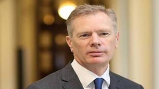 السفير البريطاني لدى طهران روب ماكير