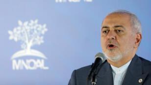 وزير الخارجية الإيراني محمد جواد ظريف-