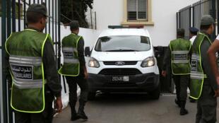 رجال الشرطة في المغرب-